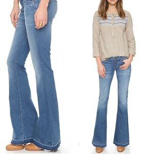 CURRENT/ELLIOTT the low bell jeans island hopper